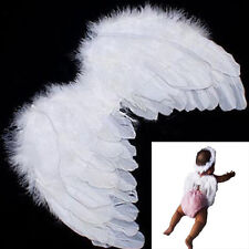 Hot Sale Baby Kids White Angel Wings Feather for Party Decoration And for Photo
