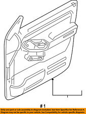FORD OEM Explorer Sport Trac Front Door-Interior Trim Panel Left 9L2Z7823943BB