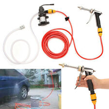 12V 65W High Pressure Car Washer Cleaner Water Wash Pump Sprayer With Hose Kit