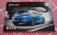 Vauxhall Astra VXR Highlights 2012 Sales Brochure, VM1209995, Brand New