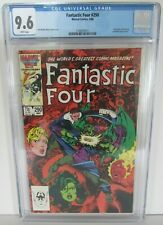 Fantastic Four #290 (1986) John Byrne She-Hulk Nick Fury CGC 9.6 MR013