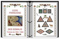 Album de timbres à imprimer COTE FRANÇAISE DES SOMALIS