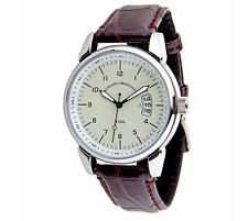 deutsches Uhrenkontor Armbanduhr Mod. 1960 (farbe Beige)