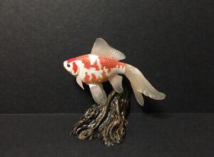 YUJIN Japan Exclusive Freshwater Comet Goldfish Fish Figure