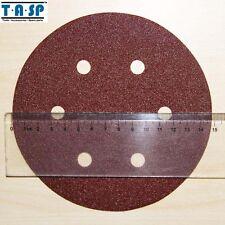 "25Pc 6"" 150mm Sanding Disc Hook Loop 60 80 120 180 240 Grits Sand Paper Abrasive"