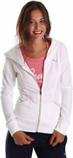 PUMA Womens Tracksuit Hooded Jog Suit Training Suit White/Navy New RRP £49.99