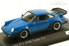 1:43 MINICHAMPS 1978 PORSCHE 911 (930) Turbo 3.3 arrow blue 100 cartima EXCLUS.