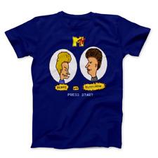 Beavis and Butt Head Video Game MTV Rock Music Unisex Men's Women's T-Shirt NEW