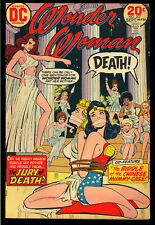 Wonder Woman #207 Very Nice Bronze Age DC Comic 1973 FN