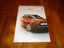 Mitsubishi ASX Prospekt 01/2012