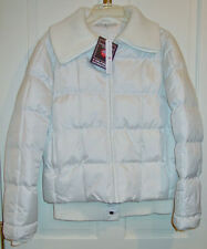 TOMMY HILFIGER LADIES WHITE GOLF JACKET SIZE 10 MedIUM  NEW WITH TAGS