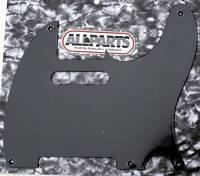 "Pickguard Telecaster Us Vintage  Thin .060"" 1 ply 5H Noir Black PG0560-023"