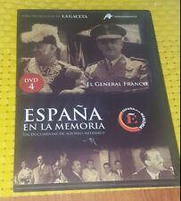 ESPAÑA EN LA MEMORIA DVD-4 EL GENERAL FRANCO