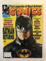 Comics Scene #27 (June, 1992) 9.0 VF/NM Batman Returns and Spawn