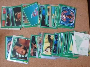 MERLIN POWER RANGERS TV SERIES STICKERS JOB LOT x 69