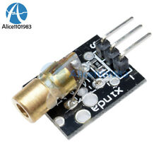 Laser sensor Module 650nm 6mm 5V 5mW Red Laser Dot Diode  KY-008 for Arduino