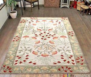Old Handmade Traditional Parsian Oriental Style Wool Area Farahan RUG & Carpet