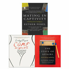 Esther Perel Mating in Captivity , State Of Affairs 3 Books collection set NEW