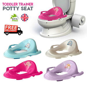Portable Travel Potty Seat Plastic Toilet Seat Kids Toddler Baby Urinal Training