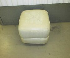CREAM CUBE POUFFE SEAT OR FOOT REST