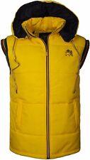 Rasta Gilet Padded Detachable Hooded Body Warmer Sleeveless Jacket