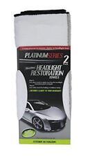 Microtex R-299721 Platinum White/Silver 11x17 Headlight Restoration Towel 2Pk