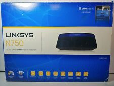 LINKSYS SMART WI-FI ROUTER N750 -- EA3500-NP -- DUAL BAND ROUTER --...