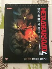 Guide Metal Gear Solid IV FR