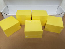 500 Blank Yellow PVC Cards, CR80.30 Mil, High Quality Credit Card Size - Seal