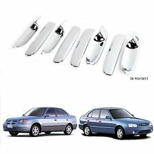Chrome Door Handle Catch Molding Trim Cover for 00-05  Accent