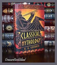 Classical Greek Mythology Gods Heroes Brand New Illustrated Hardcover Edition