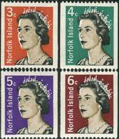 Norfolk Island 1968 SG93-95a QEII set MNH