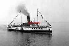 PHOTO  1974 PADDLE STEAMER P.S. 'LINCOLN CASTLE' OFF NEW HOLLAND
