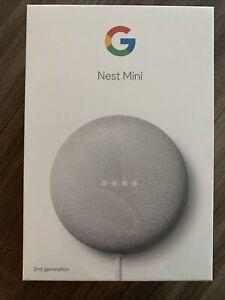Google Nest Mini (2nd Generation) Smart Speaker - Chalk