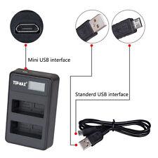 EN-EL14 Dual USB Battery Charger Nikon P7000 P7100 D3100 D3200 D5100