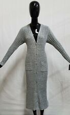 Mossimo Gray Cardigan Oversize Sweater Duster Long Button Women's Size L