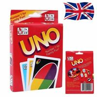 Brand New Mattel UNO card Game with WILD CARDS Latest version Great Family Fun