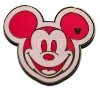 Disney Pin 66610 WDW - Hidden Mickey Series III - Colorful Mickeys - Pink