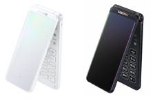 "UNLOCKED SAMSUNG GALAXY FOLDER 2 32gb SM-G160NS K L LTE 3.8"" Black White Coral"