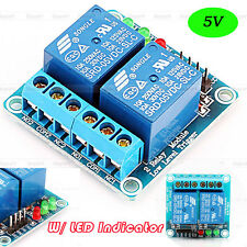 New DC 5V 2 Channel Relay Module W/ LED Indicator For PIC AVR DSP ARM Arduino