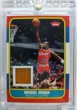 2007-08 Fleer Michael Jordan 1986 Rookie Game Used Memorabilia Relic Floor #RCF