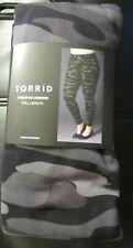 Torrid premium full length camouflage leggings, Plus size 6X