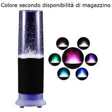 Cassa PC acqua altoparlante speaker LED MP3 cavo AUX alimentato giochi d'acqua