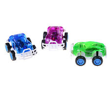 2 Pcs Kids Baby Pull Back Car Toys Plastic Model Vehicles For Children Boys WC