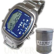 Analoge & digitale polierte Armbanduhren mit 24-Stunden-Zifferblatt