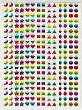 140 pairs Stick On Earrings bling gem stickers girls party bag fillers gift