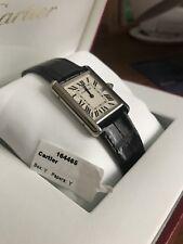 Cartier Tank Louis 18k White Gold Mens Watch