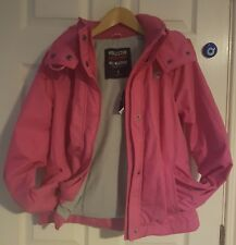 Never Worn Womens Hollister Pink All Weather Jacket size Small with labels