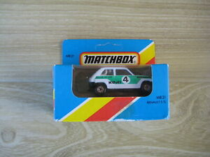 MATCHBOX SUPERFAST  MB21  RENAULT 5.TL   RALLY CAR No4    ABSOLUTELY MINT