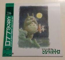 TOTORO LASERDISC JAPAN WITH OBI